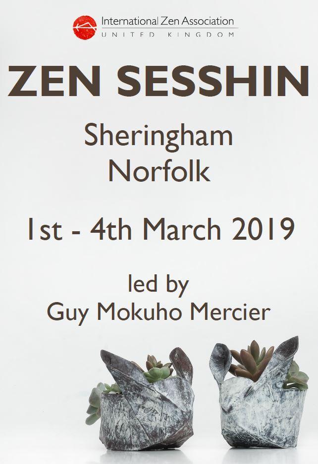 Zen Meditation Retreat (sesshin) in Sheringham with Guy Mercier